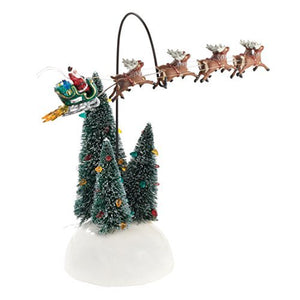Department 56 National Lampoon Christmas Vacation Animated Flaming Sleigh by Department 56