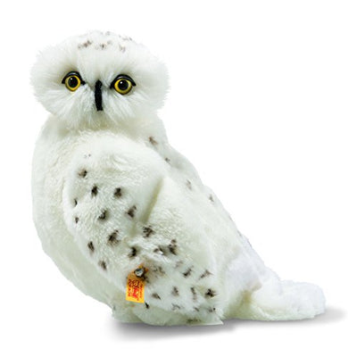 Steiff Harry Potter Hedwig Owl Plush Animal Toy, White