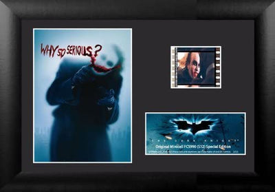 Batman - Dark Knight Minicell Film Cell Framed Art by Film Cells