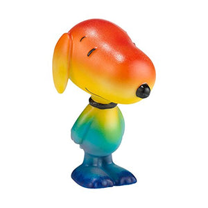 Department 56 Peanuts Chasing Rainbows Figurine, 3 inch
