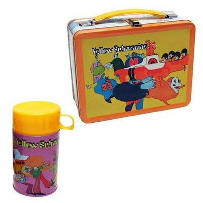 Factory Entertainment The Beatles Yellow Submarine Retro Style Metal Lunch Box