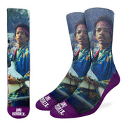 Jimi Hendrix Concert Socks by Good Luck Sock