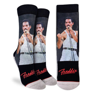Queen - Freddie at Live Aid Women's Socks by Good Luck Sock