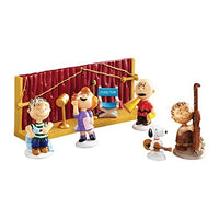 Department 56 Peanuts Christmas Getting Ready for Xmas Ornaments, Set of 8 by Department 56