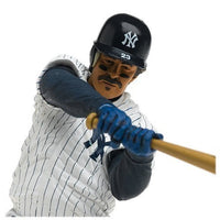 Cooperstown Series 3 Don Mattingly: NY Yankees White Pinstripe Jersey with Blue Helmet