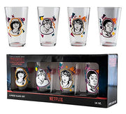 Stranger Things - Boxed Set of 4 Pint Glasses by Loungefly