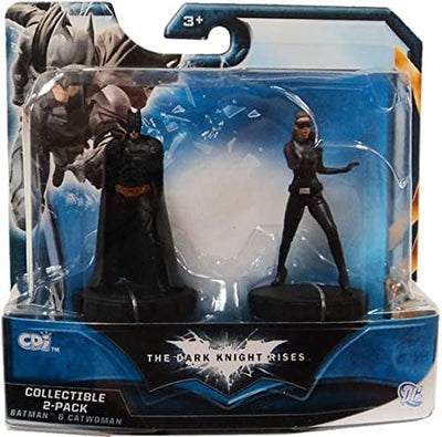 Batman The Dark Knight Rises-  Batman & Catwoman Mini  Collectible 2 Pack Set