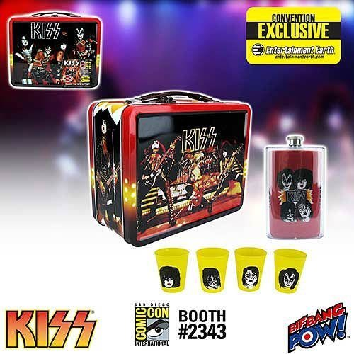 KISS Classic Tin Tote Gift Set - Convention Exclusive by Bif Bang Pow!