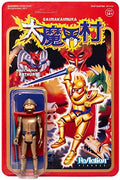"Ghosts 'n Goblins  - Gold Arthur with Armor 3 3/4"" Reaction Figure by Super 7"