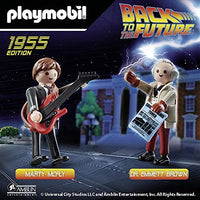 Back to The Future - Marty McFly and Dr. Emmett Brown by Playmobil