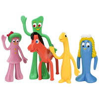 NJ Croce Gumby & Friends Action Figure Boxed Set, Multicolor