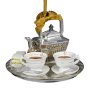 Downton Abbey - Teapot Set Ornament by Kurt Adler Inc.