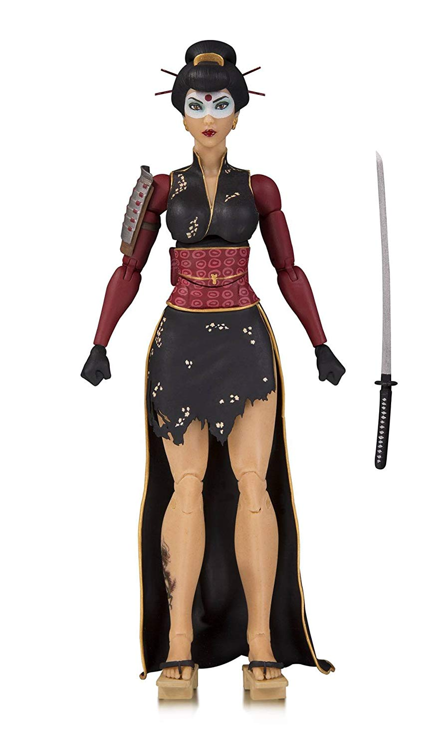 DC Collectibles Designer Series Bombshells by Ant Lucia Katana Action Figure, 7 inches