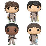 Stranger Things - Set of 4 in Ghostbusters Costumes Pop! Vinyl Figures by Funko