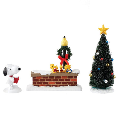 Department 56 Peanuts Snoopy and Woodstock Figurines, 5.5 inch