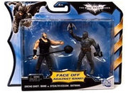 Batman The Dark Knight Rises-  Swing Shot Bane vs. Stealth Vision Action Figure 2 Pack Set by Mattel