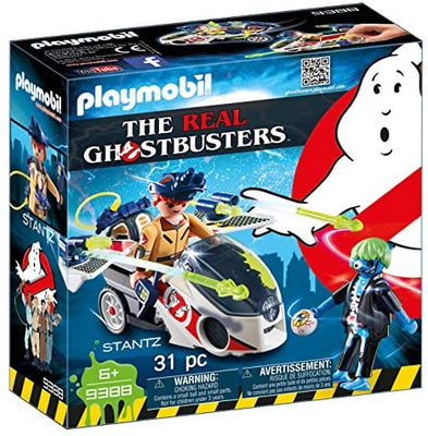 PLAYMOBIL Stantz with Skybike Building Set