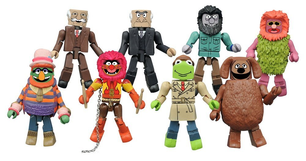 The Muppets Minimates Series 2 Set of 8 pieces