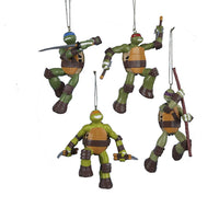 Kurt Adler Teenage Mutant Ninja Turtles Christmas Ornaments 4 Assorted