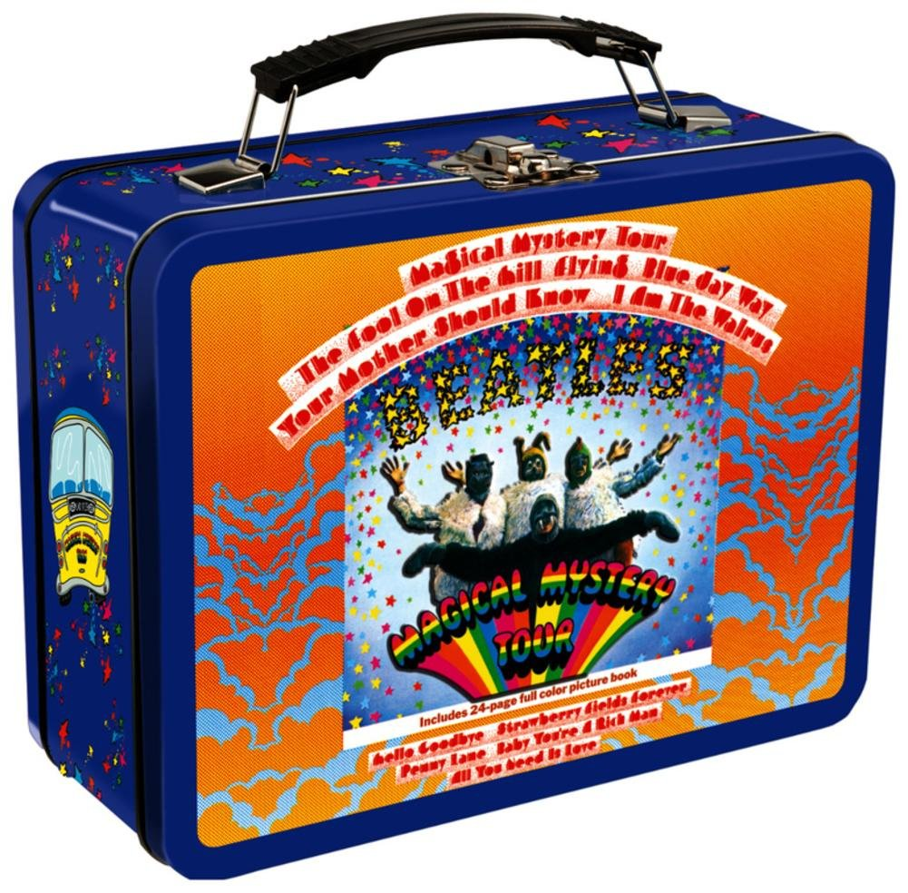 The Beatles - Magical Mystery Tour Tin Lunch Box 9 x 8in