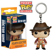 Funko Doctor Who - Dr #4 Action Figure Pocket Pop Keychain