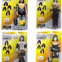 Kiss - Complete Set of 4 pieces Action Figures by Mego