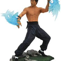 Bruce Lee - Be  Water Gallery Figure Sculpture by Diamond Select