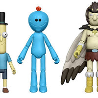 "Rick and Morty 5"" Action Figures Set of 5 (+Snowball)"