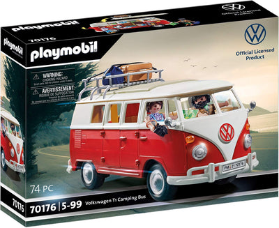 Volkswagen - T1 Camping Bus by Playmobil