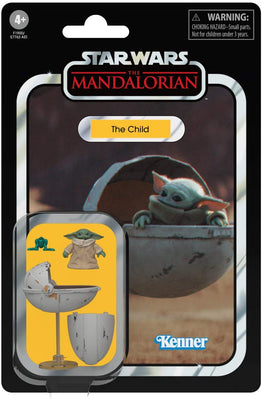 Star Wars - The Mandalorian Child w Pram  3.75