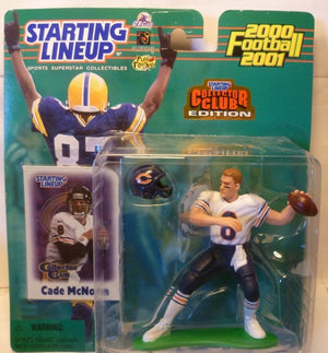 2000 NFL Starting Lineup Collector Club Edition - Cade McNown - Chicago Bears