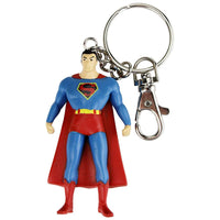 "NJ Croce Superman Key Chain, 3"", Blue"