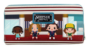 Stranger Things - Starcourt Mall Chibi Zip-Around Wallet by Loungefly