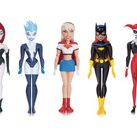 DC Collectibles Batman: The Animated Series: The New Batman Adventures: Girls' Night Out 5 Pack Action Figure