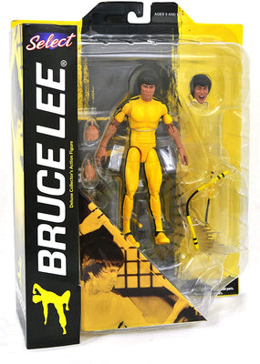 Bruce Lee - Yellow Jumpsuit Action Figure by Diamond Select