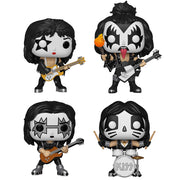 KISS - Set of 4 Pop! Vinyl Figures by Funko