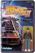 "Back to the Future II - Fifties Marty Reaction 3 3/4"" Action Figure by Super 7"