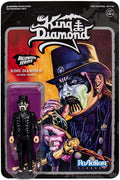 "King Diamond - Top Hat 3 3/4"" Reaction Figure by Super 7"