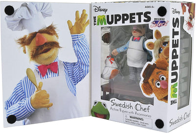Muppets - Swedish Chef Deluxe Figure Set by Diamond Select