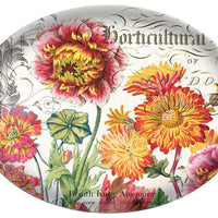 Michel Design Works Glass Soap Dish, Blooms and Bees
