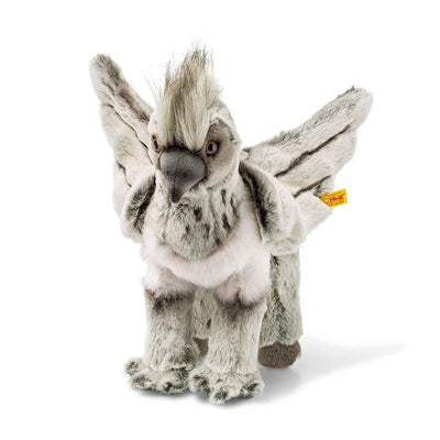 Steiff 355073 Harry Potter Buckbeak Plush Animal Toy, Grey/Beige