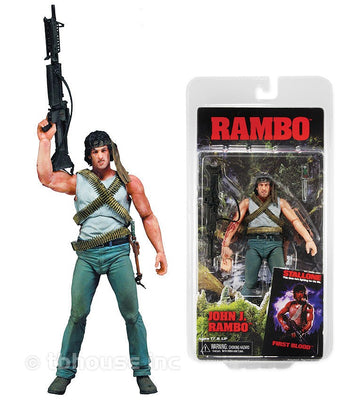 First Blood -  John J. Rambo Action Figure by NECA