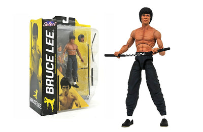 Bruce Lee - Shirtless Action Figure by Diamond Select