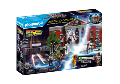 Back to The Future - Advent Calendar by Playmobil
