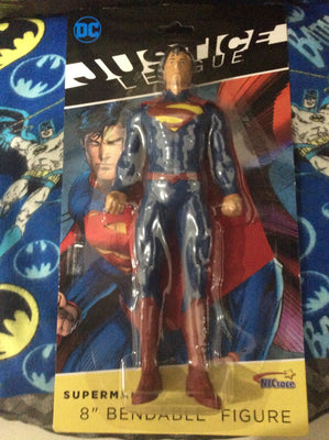 Justice League - Superman 8 Inch Bendable Figure