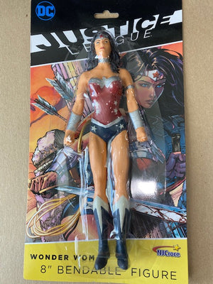 Justice League - Wonder Woman 8 Inch Bendable Figure