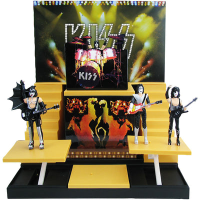 KISS -  Alive II Sound Stage & Action Figures - SDCC Exclusive by Bif Bang Pow!