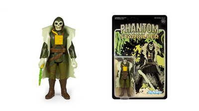 "Phantom Starkiller- Green Cameo Variant 3 3/4"" Reaction Figure by Super 7"