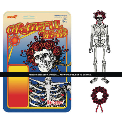 Grateful Dead - Bertha Album Cover 3 3/4
