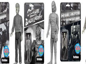 "Universal Monsters - Set of 3 pieces NY Comic Con 2015 Exclusive 3 3/4"" ReAction Figures by Funko"
